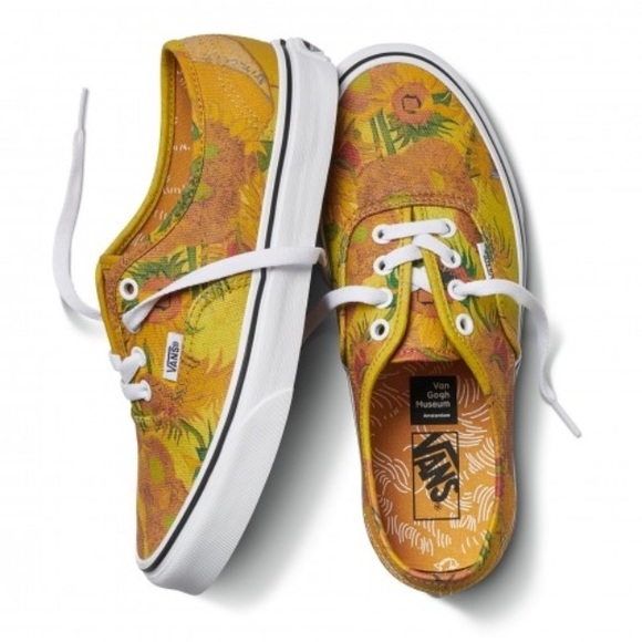 3e7d2341f65 Vans Authentic Van Gogh Museum Sunflowers 7
